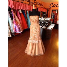 Vestido Fiesta Noche Alta Costura Jovani Talla 10 $490 Dlls