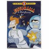 Futurama 3ª Temporada Estojo Lacrado C/ 4 Dvds Original