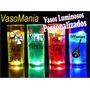 100 Vasos Luminosos Personalizados Con Frase