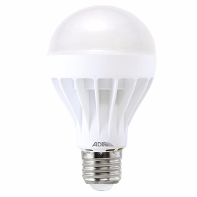 Foco Tipo Bulbo Eco Power Led 12w Calido 260° Iluminaci 4355