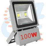 Reflector Led 100w Para Exteriore 6000k 110v Luz Blanco Ip65