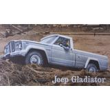 Gladiator Jeep Burlete De Puerta