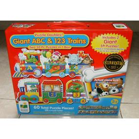 Rompecabezas Gigante Doble Piso Tren Abecedario Minnie Mouse