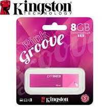 Pen Drive 8gb Kingston 2.0 Rosado Original Sellado Blister