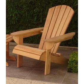 Silla de descanso de madera en mercado libre m xico for Galpon de madera para jardin