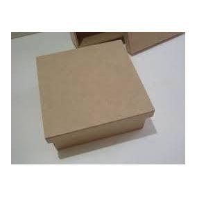 Caixas Em Mdf 10x10x5- Kit Com 20 Unid. R$ 30,00