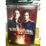 Dvd Supernatural Sobrenatural 5ª Temporada 6 Discos