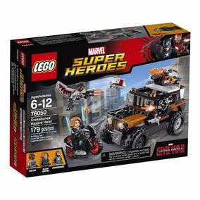 Educando Lego Super Héroes 76050 Crossbone´s Hazard Heist