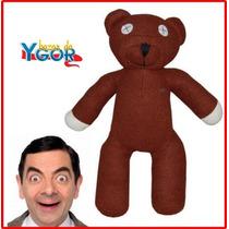 Urso Teddy Mr. Bean Pelúcia - Pronta Entrega