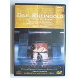 Wagner El Oro Del Rhin P.boulez Dvd Opera Philips