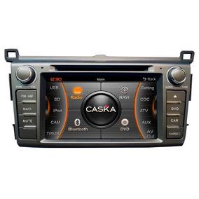 Central Multimídia Dvd Caska Toyota Nova Rav4 Ca371br Com 3g