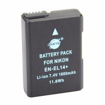 Batería Genérica En-el14 Para Nikon D5100 D3100 D5200 D3200