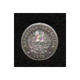Moneda De Plata.-patacon Diez Centavos De 1882 S-c
