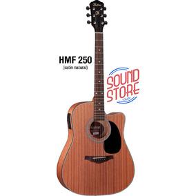 Violao Hofma Hmf 250 Folk Eletrico Com Afinador- Sound Store