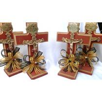 Cruz De Madera Luctuosa Recuerdo Aniversario Fin Novenario