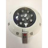 Foco Luz Led A Color Para Piscina Con Control Remoto 36 Watt