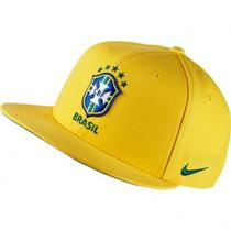 Vicera Gorra Plana Snapback Brasil Nike Fútbol