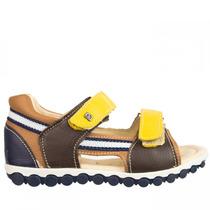 Sandália Infantil Masculino Bibi Velcro Palmilha Fisiológica