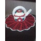 Chaleira De Croche Para Enfeite