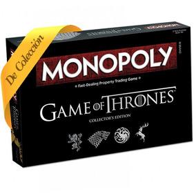 Monopoly Game Of Thrones Edición De Colección Original