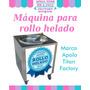 Máquina De Rollo Helado,helado Thai, Helado Frito