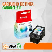 Cartucho Canon 211 Cl-211 Color Original