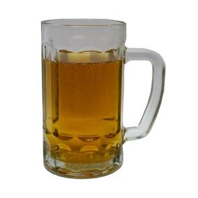 4 Caneca De Vidro Temperada Chopp Cerveja 400ml Menor Preço.