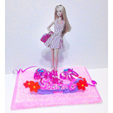 Adornos Torta Infantiles Barbie Campanita Minnie Baky Doky