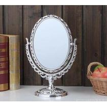 Espelho De Mesa Maquiagem Depilação Aumento Normal Princesas