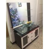 Lavamanos De Vidrio Con Gabinete Moderno