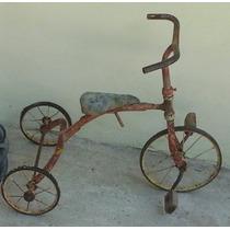 Antiguo Triciclo Año 1945 - 1947 Sin Marca Original P/rest.