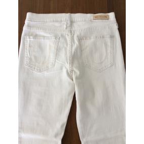 Calça Feminina Skinny True Religion Jeans Lavado