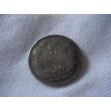 Moneda 5centimos 1958estados Unidos De Vzla Cobre-niquel