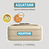Tanque De Agua Tricapa Chato Cuadrado 1000 Lts Aquatank