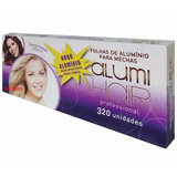 Papel Alumínio P/ Mecha 5 Caixa 320 Folhas 12x30 Luzes/ofert