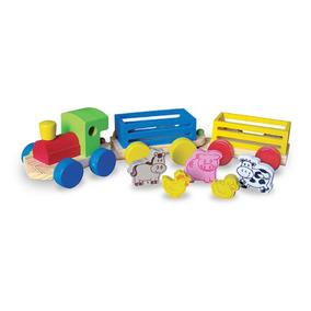 Trem Fazendinha - Wood Toys