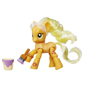 My Little Pony - Figura Articulada - Applejack B8022