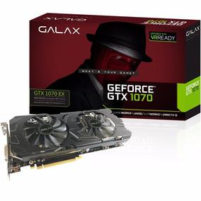 Placa De Vídeo Galax Gtx 1070 8gb Ex Gddr5 70nsh6dhl4xe