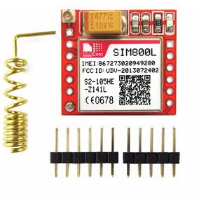 Módulo Sim800l Gprs Gsm Microsim Card Quad-band Ttl P Serial