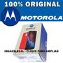 Caixa E Manual Motorola Moto G4 Plus Xt1640 - Nova Original