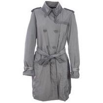 Exclusiva Gabardina Moncler Trench Coat Azul Marino M-l Orig