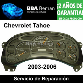 Tablero Chevrolet Tahoe Reparacion