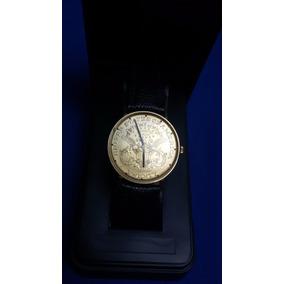 Reloj De Pulsera Lucien Piccard, Dolar 18 K.