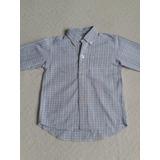 Camisa Manga Larga Escocesa Niño 12 Meses