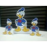 Display De Mesa Pato Donald C/ Suporte 19cm Alt. R$2,90 Unid