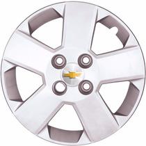 Jogo Kit 4 Calotas Aro 14 Onix Corsa Celta Prisma Meriva Gm