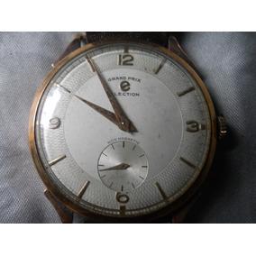 Antiguo Reloj Gran Prix De Los 50, Oro 18k