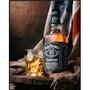 Cartel Antiguo En Chapa Gruesa 20x30cm Jack Daniels Dr-075