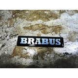 Emblema Brabus Fino Alumínio Pintura Automotiva 9cm/2cm