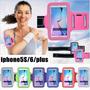 Braçadeira Iphone 4g 4s 5s 5c Porta Celular Corrida Promoção